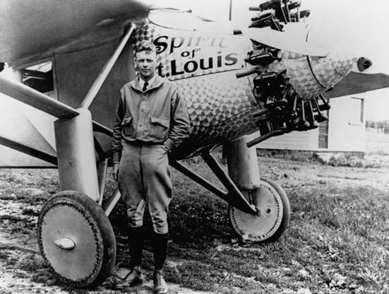 26 augustus 1974. Charles Lindbergh overleden