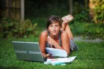Annelien Verhoegstraete is nu hard aan het studeren. Voor de tweede zit.
