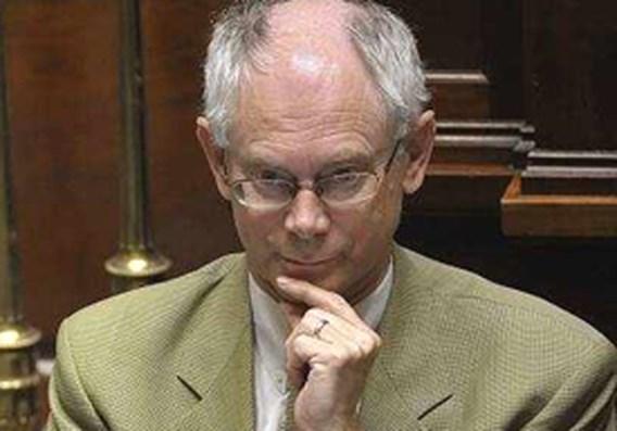 Van Rompuy steekt nek uit op diner van Bilderberg