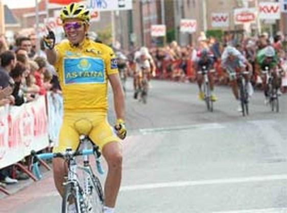 Contador eindlaureaat UCI-klassement, Gilbert 9de