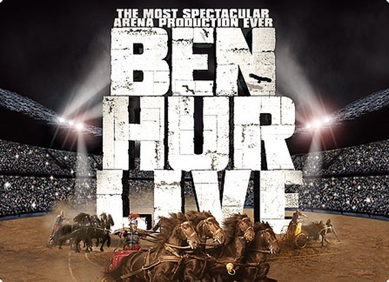 Ben Hur Live geannuleerd