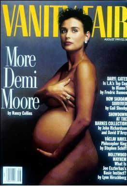 Demi Moore in 1991. pn