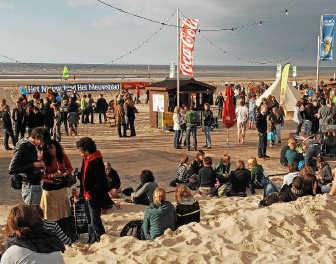 Op de locatie in De Panne werd eerder al Dranouter aan Zee georganiseerd. vhi