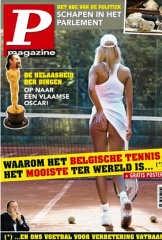 De cover van P-Magazine...