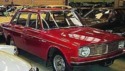 Een Volvo 144 zoals van Vande Veire werd uit het water gevist.belga