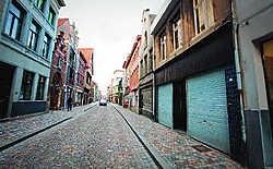 De Sint-Katelijnestraat ligt er piekfijn bij dankzij de inspanningen van de reinigingsdiensten. Stijn Hermans