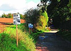 Deze Romeinse weg dreigt te verdwijnen volgens Leefmilieu Tongeren.Ralf Eicker