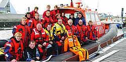 De Blankenbergse redders wisselden kennis uit met hun Nederlandse collega's. Norbert Minne