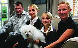 Natacha Ingelbrecht vindt enorm veel steun bij haar gezin. Peter Maenhoudt