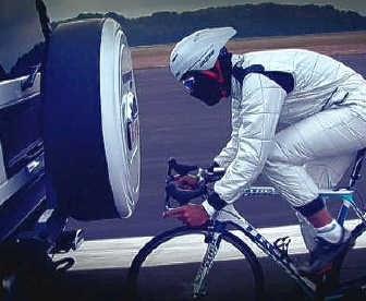 The Stig Gert Steegmans: 134 kilometer per uur op een tweewieler.rr