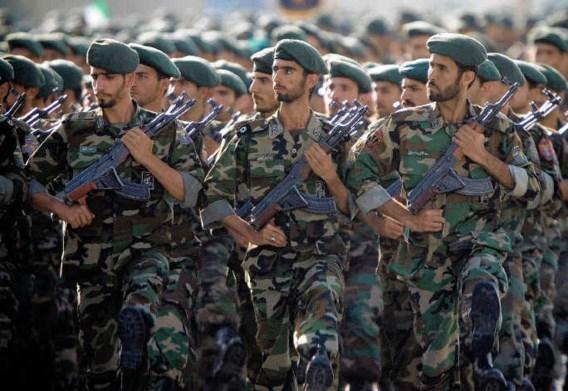De Revolutionaire Garde beschermt het regime tegen binnenlandse en buitenlandse vijanden.reuters