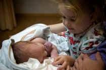 Zoon Arthur en dochter Eline. vrt