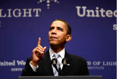 Obama: voegt hij de daad bij het woord?rtr