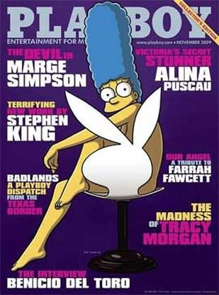 Naaktfoto's Marge staan online