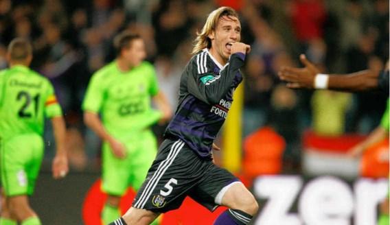 Lucas Biglia scoorde zijn mooiste doelpunt ooit voor Anderlecht. 'Ik zal de droom van de nationale ploeg nooit opgeven', zegt de Argentijn.isosport
