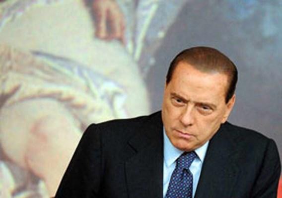 Zieke Berlusconi geeft verstek voor Europese top