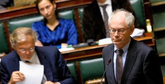 Herman Van Rompuy wil alleen 'president' worden als hij een onbetwiste kandidaat is. blg