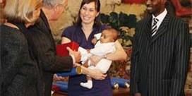 Kim Gevaert bevallen van tweede zoontje