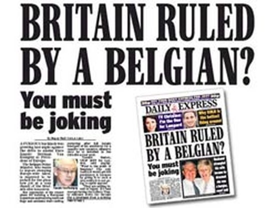 Britse tabloids voeren aanval tegen Van Rompuy op