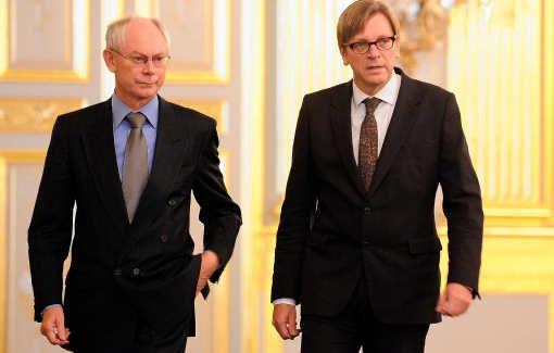 De Europese topjob die Guy Verhofstadt jaren ambieerde, krijgt Van Rompuy in de schoot geworpen. belga