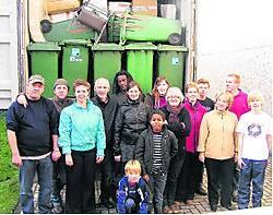 De Herentalse vrijwilligers van Afractie plannen nog acties.Marc Peeters