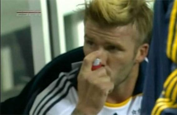 David Beckham heeft astma