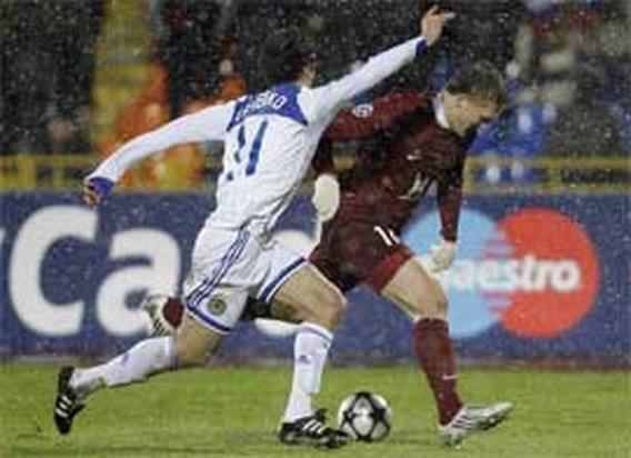 Rubin Kazan en Kiev blijven steken in de sneeuw
