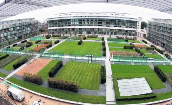 Zo ziet de oude voetbaltempel van Highbury er vandaag uit: een complex met 711 appartementen. Arsenal Football Club