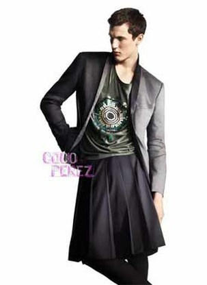 H&M introduceert rok en harembroek voor mannen