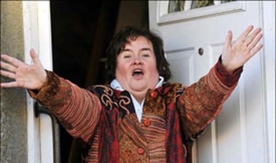 Susan Boyle krijgt inbreker over de vloer