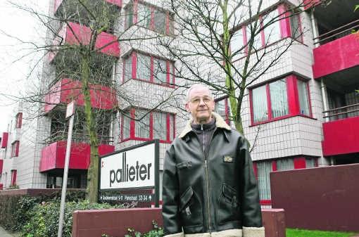 Roger Vanroelen huurt een sociaal appartement: 'Het is moeilijk om rond te komen.' Koen Merens