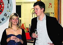 Marieke en Hannes Anaf genoten met volle teugen van hun deelname aan de Pappenheimers. Louis Verbraeken