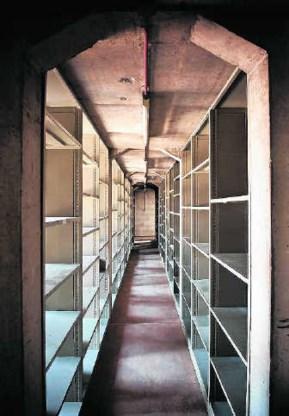 De leeggehaalde negentiende verdieping van de Boekentoren. Geert Roels
