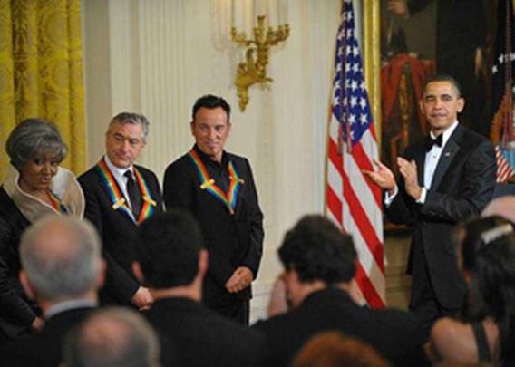 Barack Obama 'eert' Bruce Springsteen