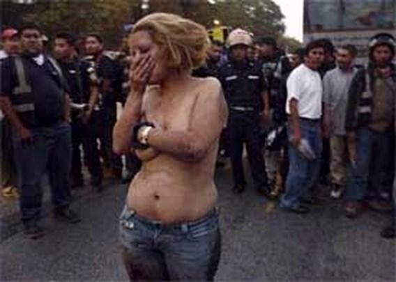Vrouw mishandeld op straat na overval
