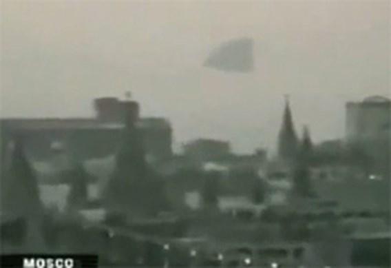'Ufo' duikt op boven Kremlin