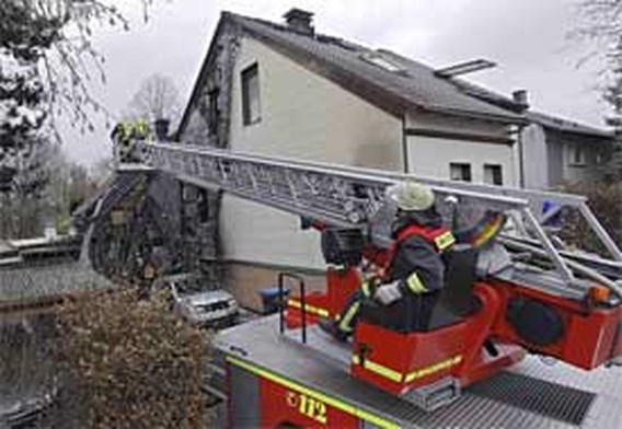 Doden na brand in Duits huis