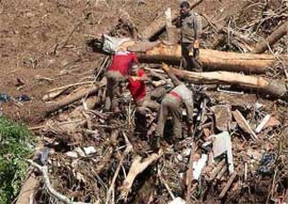 Doden door modderstromen Brazilië