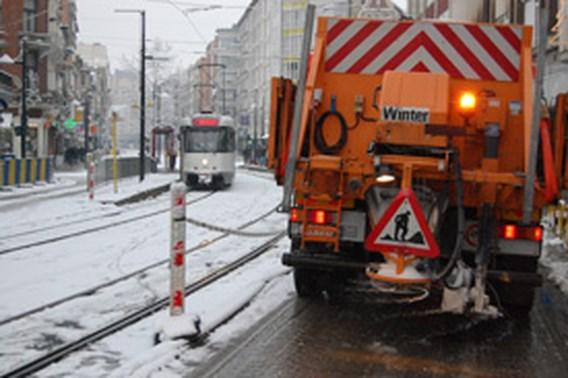 Al 35.000 ton strooizout op Vlaamse wegen