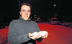 Ruben Weytjens: 'Sneeuw is voor mij het witte goud.'ppn