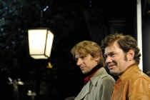 Peter Van den Begin en Stany Crets. vrt