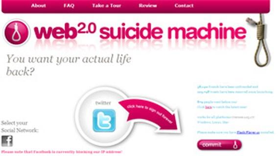 Facebook blokkeert virtuele 'zelfmoord'