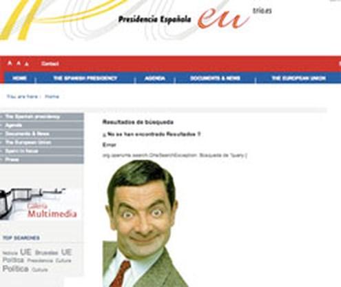 Hacker vervangt Spaanse premier door Mr. Bean