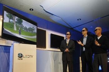 De 3D LED-tv van Samsung