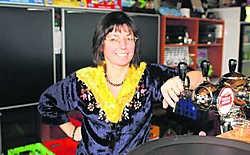 Nancy Van Woensel, van De Begankenisse, vindt een Herman Van Rompuyplein uitstekend.. Tab