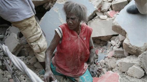 IN BEELD XL. Zware aardbeving in Haïti