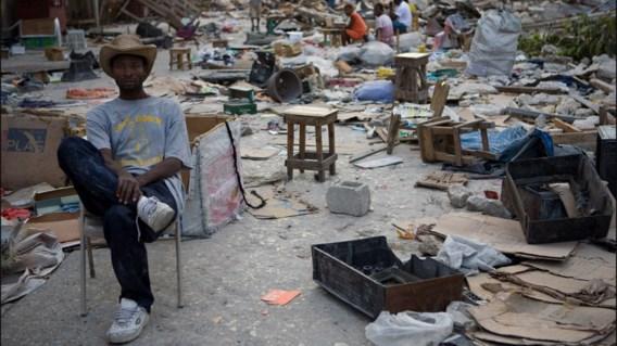 IN BEELD XL. Tienduizend Haïtianen zonder dak