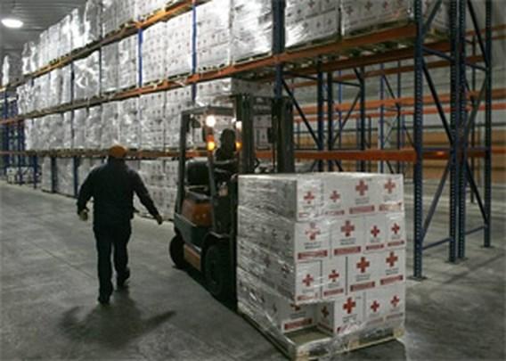 Rode Kruis stuurt 40 ton geneesmiddelen naar Haïti