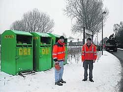 Personeelsleden van de gemeentelijke technische dienst stellen te vaak misbruik van containers vast. rdb