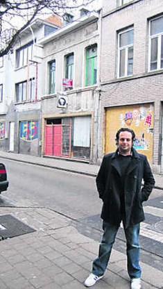 Ico Maly van de interculturele organisatie KifKif: 'Ook een allochtone Antwerpenaar wil wel in een chique villa in Brasschaat wonen.'Wouter Rombouts